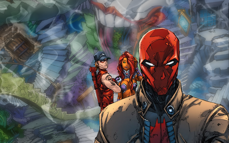 red hood wallpaper 100